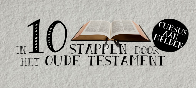 Cursus Oude Testament met 48 deelnemers van start