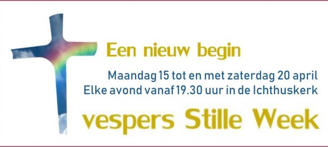 Vespers in de Stille Week