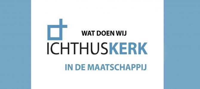 Vrijwilligers Ichthuskerk presenteren zich