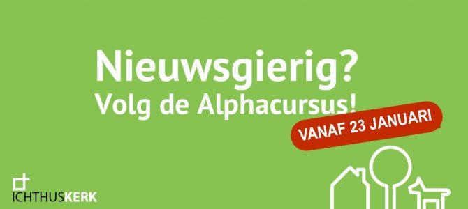 Alphacursus 23 januari 2020